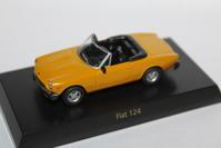 1/64 Kyosho FIAT・LANCIA FIAT 124 - 1/87 SCHUCO & 1/64 KYOSHO ミニカーコレクション byまさーる
