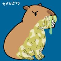 乾燥へなちょこカピカピバラできました - 動物キャラクターのブログ へなちょこSTUDIO