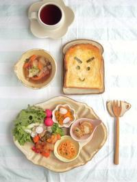 元気朝ごはん - 陶器通販・益子焼 雑貨手作り陶器のサイトショップ 木のねのブログ