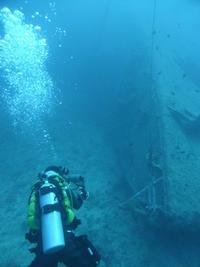 巨大沈船で大撮影大会~USSエモンズダイビング~ - 沖縄本島最南端・糸満の水中世界をご案内!「海の遊び処 なかゆくい」