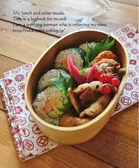 11.29海苔巻き弁当 - YUKA'sレシピ♪