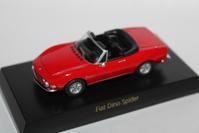 1/64 Kyosho FIAT・LANCIA FIAT Dino Spider - 1/87 SCHUCO & 1/64 KYOSHO ミニカーコレクション byまさーる
