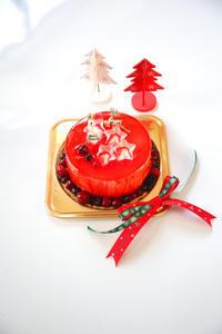 cotta クリスマスデコレーションケーキ「ガトー オ フロマージュ アラ クレーム」レシピ - のんびりのびのび