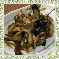 茄子と舞茸の味噌煮風炒め(レシピ付) - kajuの■今日のお料理・簡単レシピ■