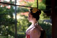 舞妓千賀遥・真如の庭 - ちょっとそこまで