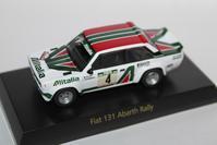 1/64 Kyosho FIAT・LANCIA FIAT 131 Abarth Rally - 1/87 SCHUCO & 1/64 KYOSHO ミニカーコレクション byまさーる