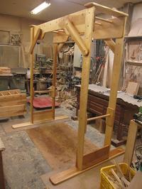 うんていNタイプW1800×H2000×D1340可動式登り棒2本 - MIKI Kota STYLE by Art Furniture Gallery