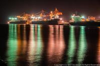 埠頭の夜景 - シセンのカナタ