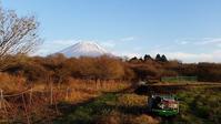 小雪の堆肥まき - 富士のふもとの農業日誌