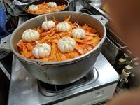 ウズベキスタン風ピラフを作る - 牡蠣を煮ていた午後
