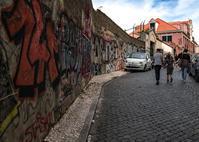 リスボン探訪(サン・ジョルジェ城への坂道2-4) - 写真の散歩道