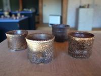 蓋置き見立ての呑み器 - のぼり窯 窯元の日々