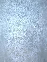 銀彩直線薔薇紋★折り鶴 - 月夜飛行船