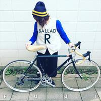 FUJI BALLAD R 2018 fuji バラッド クロモリ ロードバイク クロスバイク 自転車女子 フジ おしゃれ自転車 自転車ガール - サイクルショップ『リピト・イシュタール』 スタッフのあれこれそれ