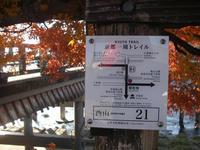京都一周トレイル完結編 西山コース嵐山~苔寺 - 親爺のトレイル日記