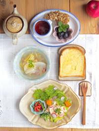 ワンプレートで朝ごはん - 陶器通販・益子焼 雑貨手作り陶器のサイトショップ 木のねのブログ