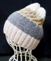ニット帽(棒針) - 日々綴り