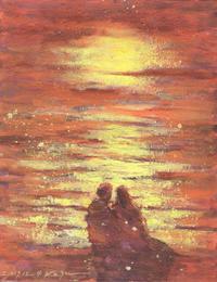 暖めてくれるのは。 - 湘南・鎌倉・海の絵〜画家・亀山和明のblog
