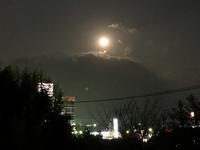 満月 - 今日は何処まで