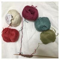スヌード:マリアンネさんのラウンドスカーフ(1) - よなよな編み物