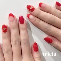 クリスマスレッド - 表参道・銀座ネイルサロンtricia BLOG