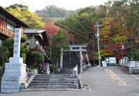 太平記を歩く。その163「四条畷神社」大阪府四條畷市 - 坂の上のサインボード
