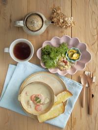 寒い日の朝ごはん - 陶器通販・益子焼 雑貨手作り陶器のサイトショップ 木のねのブログ