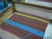 段染めマフラー、初めてマフラー、綾織りマフラー - アトリエひなぎく 手織り日記