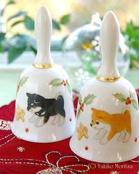 【新作】柴犬クリスマスベル、柴犬マトリョーシカ他、販売開始♪ - びいどろ彫師のつぶやき ~GLASSアルペンローゼ 店主のつれづれ日記~