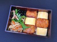 12/5いか天丼弁当 - ひとりぼっちランチ