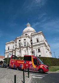 リスボン探訪(サンタ・エングラシア教会と泥棒市 2-7) - 写真の散歩道
