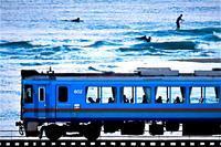寒いのにねぇ - 今日も丹後鉄道
