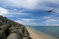 テトラポット - 南の島の飛行機日記