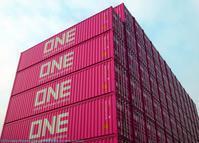 「ONE」のコンテナ登場! - 船が好きなんです.com