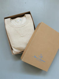 Merz b. Schwanen Sweater Shirt - Khaki Mel - 『Bumpkins putting on airs』