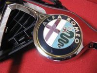156 V6 エンブレム交換 - VIVA ALFA ROMEO