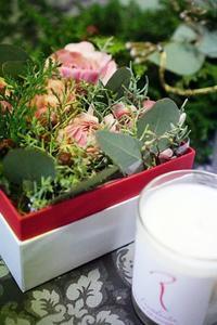 ボワットdeレッスン&スワッグDX - お花に囲まれて