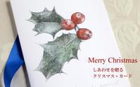 ヒイラギのクリスマスカードプレゼントにおすすめ! - ブルーベルの森-ブログ-英国のハンドメイド陶器と雑貨の通販