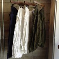 linenu works/sarrouel pants - UTOKU Backyard