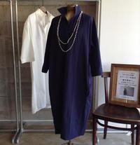 linenu works/cocoon dress - UTOKU Backyard