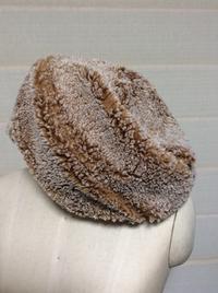 フェイクファー - 帽子工房 布布