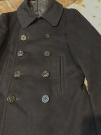 12月9日(土)入荷!40s〜WW2 10BUTTON P コート - ショウザンビル mecca BLOG!!