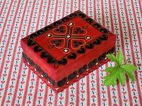 ポーランドのハートの木製小箱 -  Der Liebling ~蚤の市フリークの雑貨手帖2冊目~