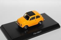 1/64 Kyosho FIAT 500 F - 1/87 SCHUCO & 1/64 KYOSHO ミニカーコレクション byまさーる
