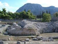 古代コリントスのローマ時代のオデオン - 日刊ギリシャ檸檬の森 古代都市を行くタイムトラベラー