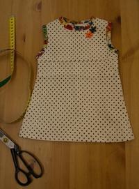 1/2サイズで作ったワンピース - warmheart*洋服のサイズ直し・リフォーム*