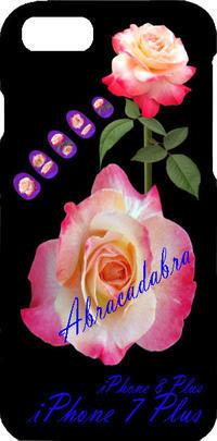 薔薇の写真アブラカタブラネイルiPhone7Plus iPhone8Plus iPhone6Plus - 写真で楽しんでます! スマホ画像!
