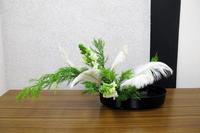 クリスマスの生け花 - リリ子の一坪ガーデン