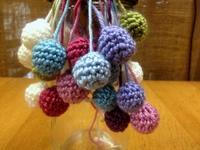 ☆編み編み毛糸ボール・やさしいトーンの毛糸たち☆ - ガジャのねーさんの  空をみあげて☆ Hazle cucu ☆