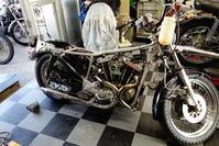 水曜日の授業風景・金曜日なんやかや - Vintage motorcycle study